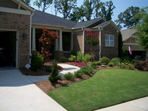Front Yard Landscaping in Woodstock, GA
